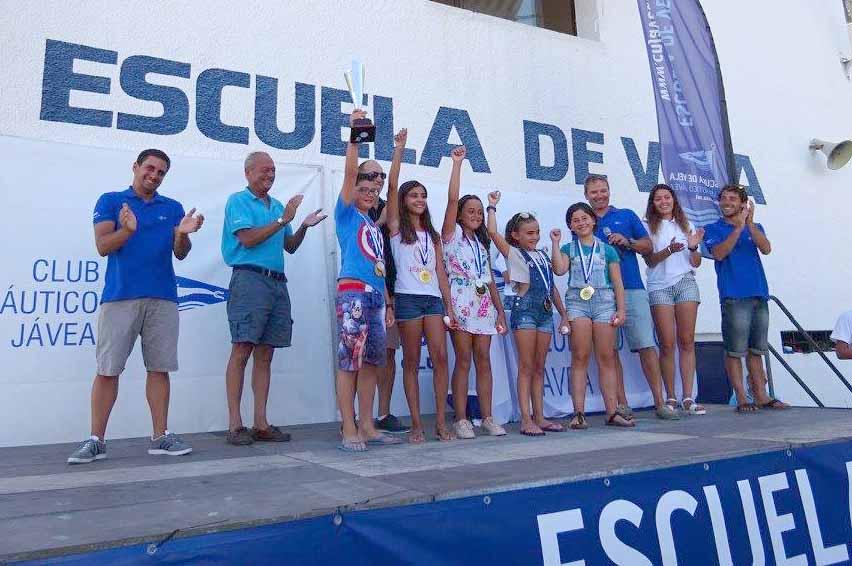 Entrega de premios de la XXII Liga Interescolar
