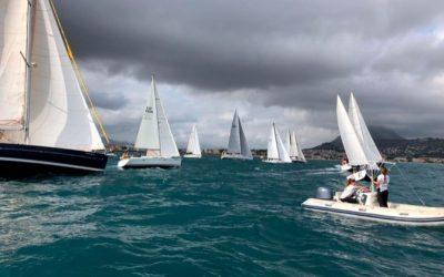 11 embarcaciones de crucero abren la temporada del trofeo Comodoro Cuatro Estaciones
