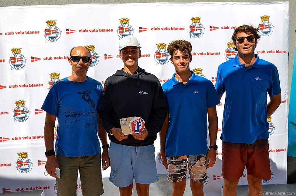 Álex Ortega y Álex Serrat terceros en su categoría en el Campeonato de España de Foil y Raceboard