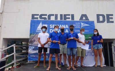 115 regatistas participan en los trofeos para los más jóvenes de la 47 Semana de la Vela del Club Náutico Jávea